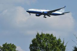 Þota United Airlines.