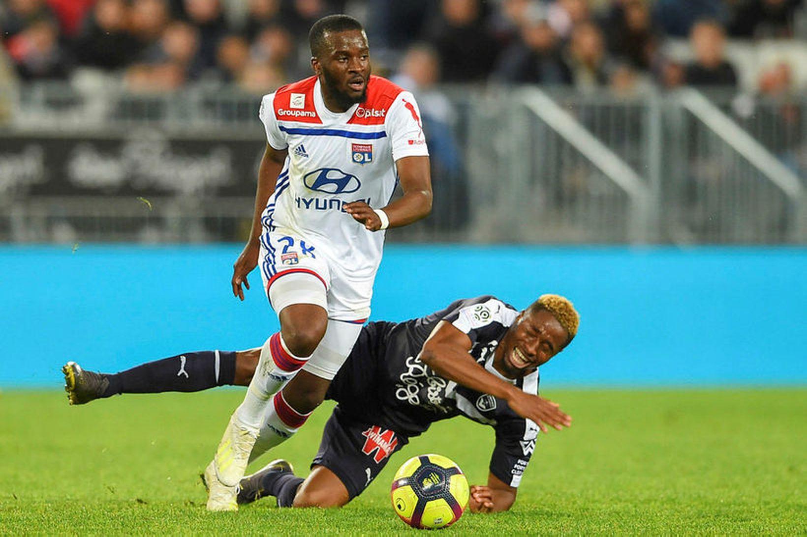 Tanguy Ndombele í leik með Lyon.