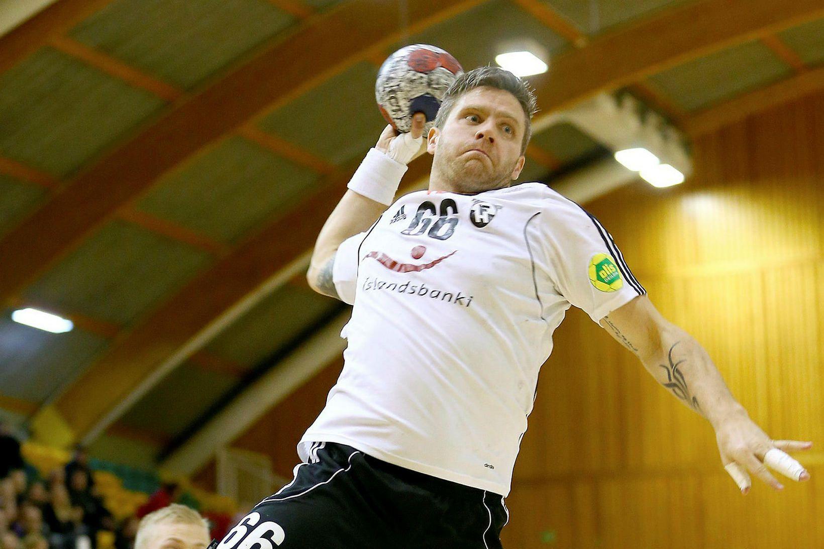 Atli Rúnar Steinþórsson í leik með FH árið 2014.