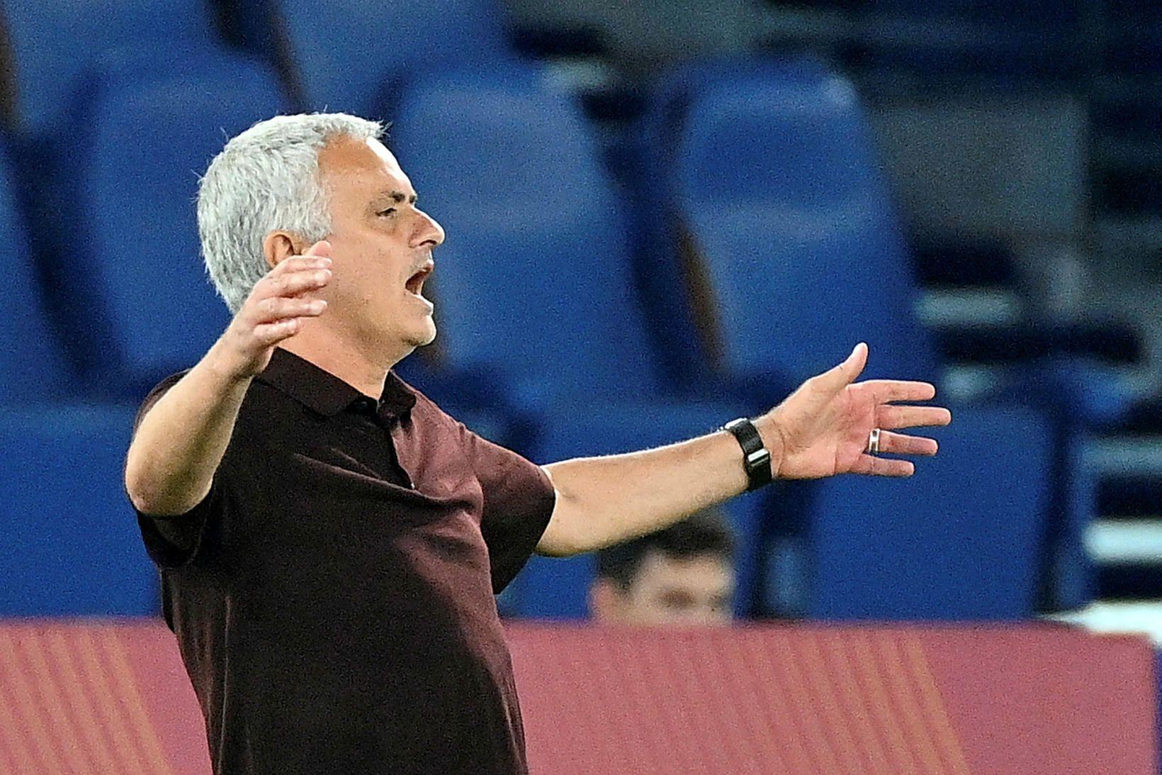 Það þarf meira til þess að gera José Mourinho ánægðan.