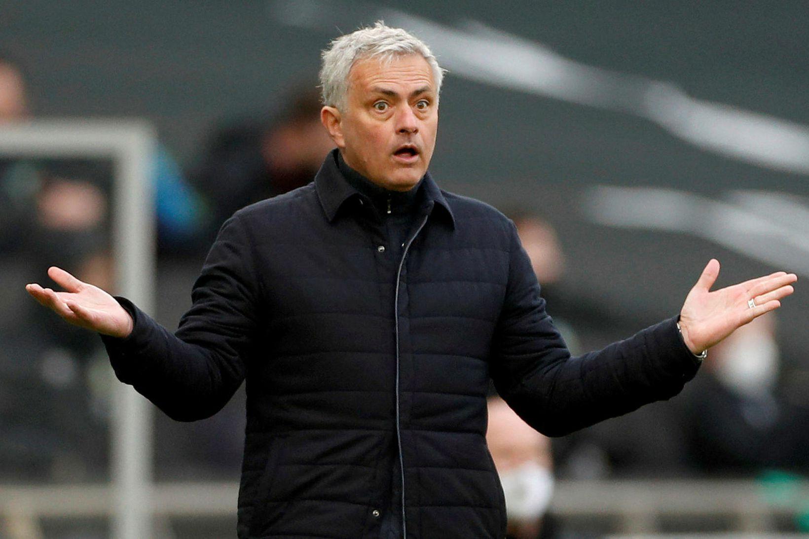 José Mourinho, knattspyrnustjóri Tottenham.