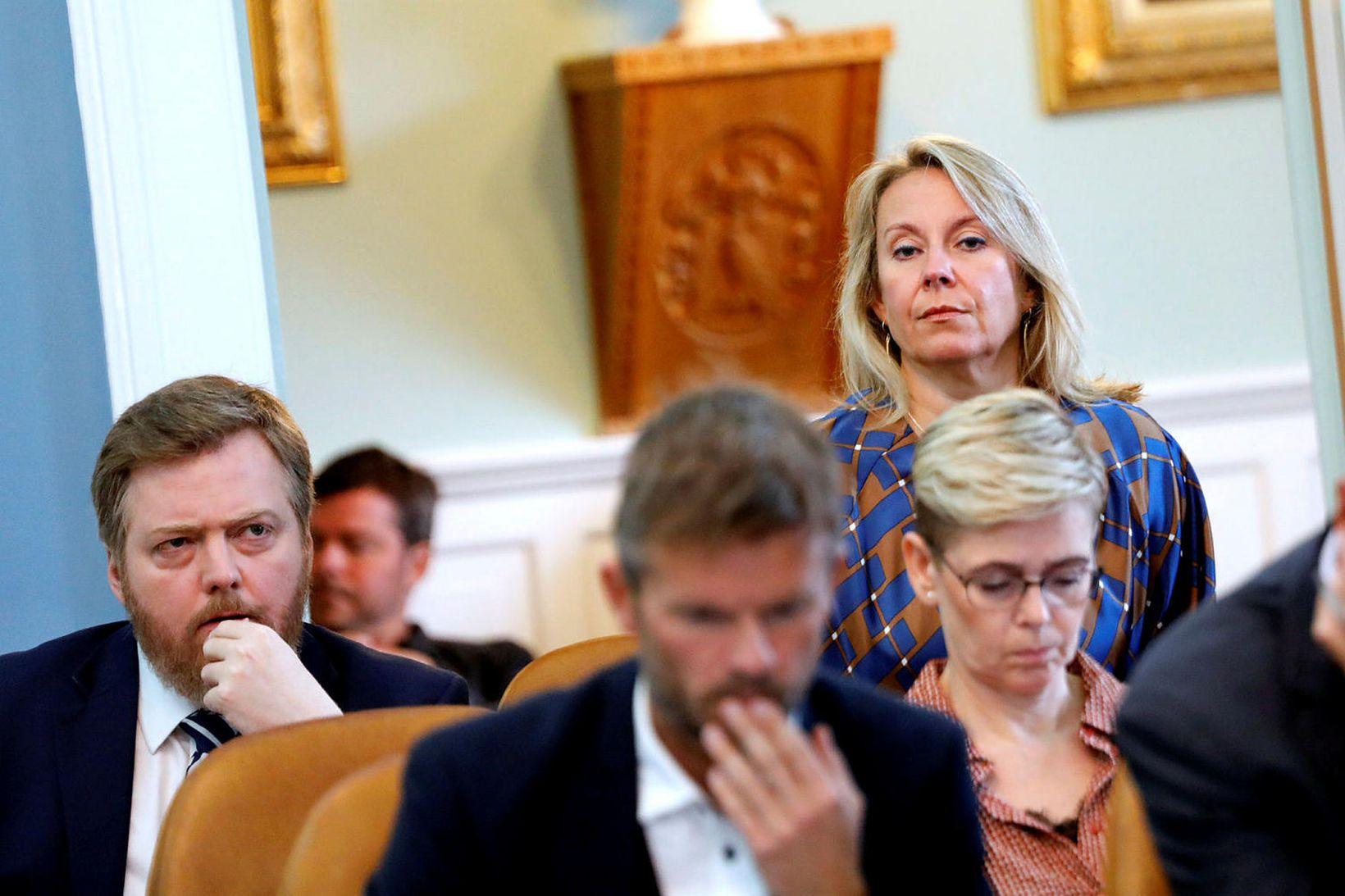 Sigríður Andersen er ómyrk í máli um aðgerðir stjórnvalda í …
