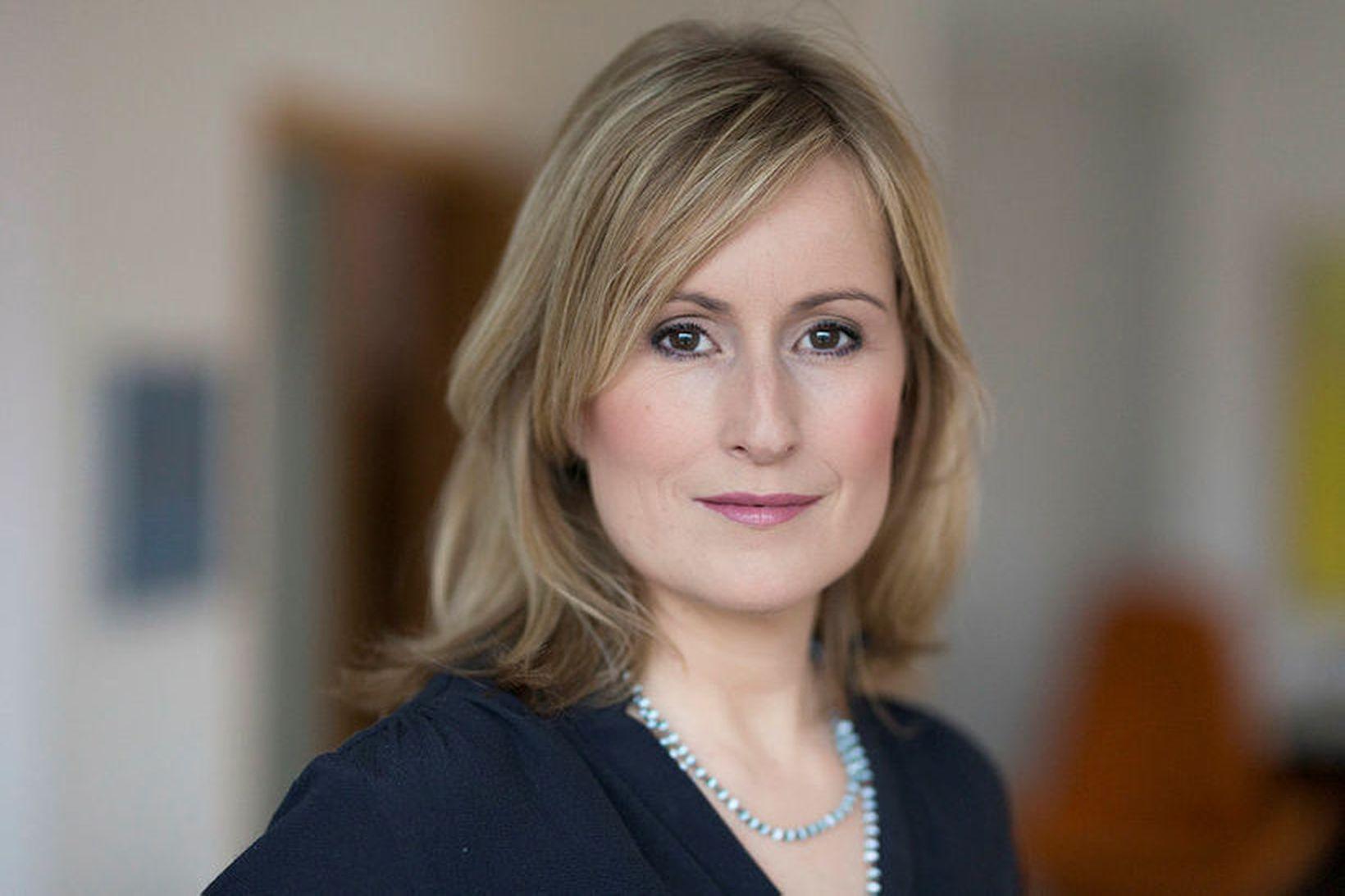 Unnur Anna Valdimarsdóttir, prófessor við læknadeild HÍ.