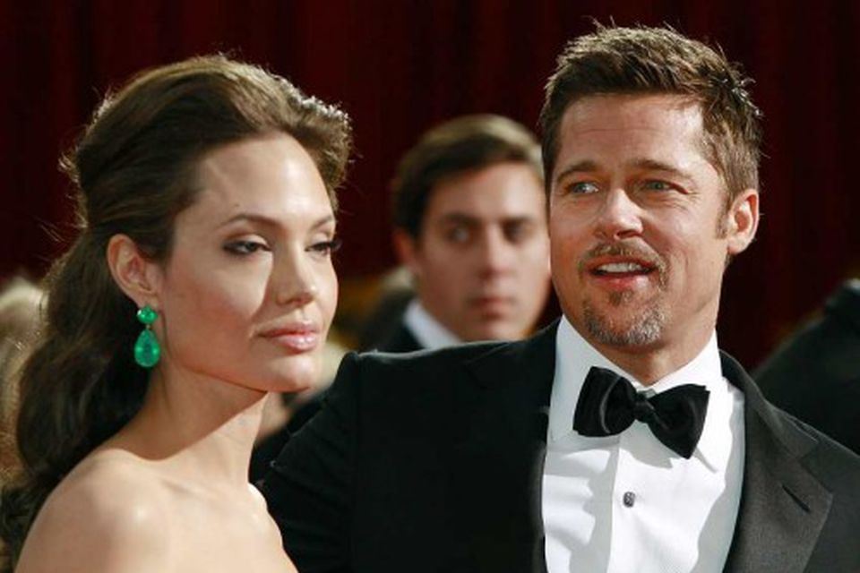 Angelina Jolie og Brad Pitt voru bæði tilnefnd til verðlauna en fengu hvorugt.