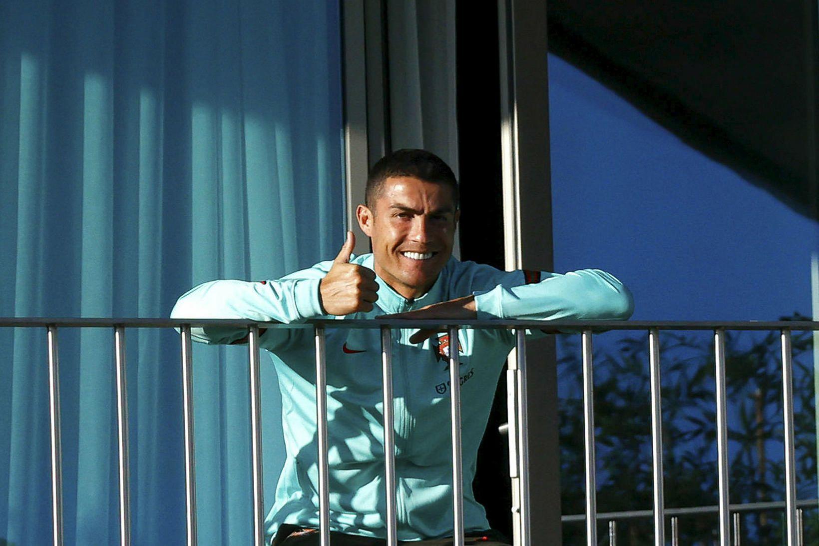 Cristiano Ronaldo er í einangrun.