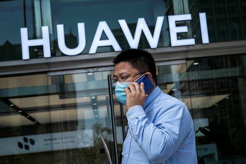 Huawei nýtur gífurlegra vinsælda í Kína.