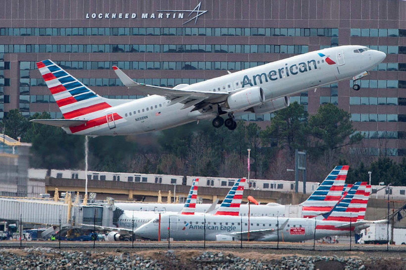 Boeing 737 vél American Airlines.