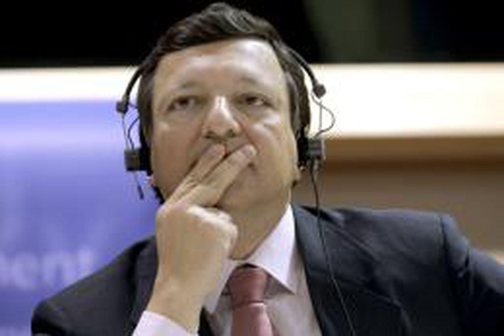 Jose Manuel Barroso, verðandi forseti framkvæmdastjórnar ESB.