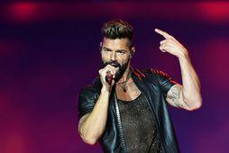 Ricky Martin deildi íslensku zúmba-myndbandi.