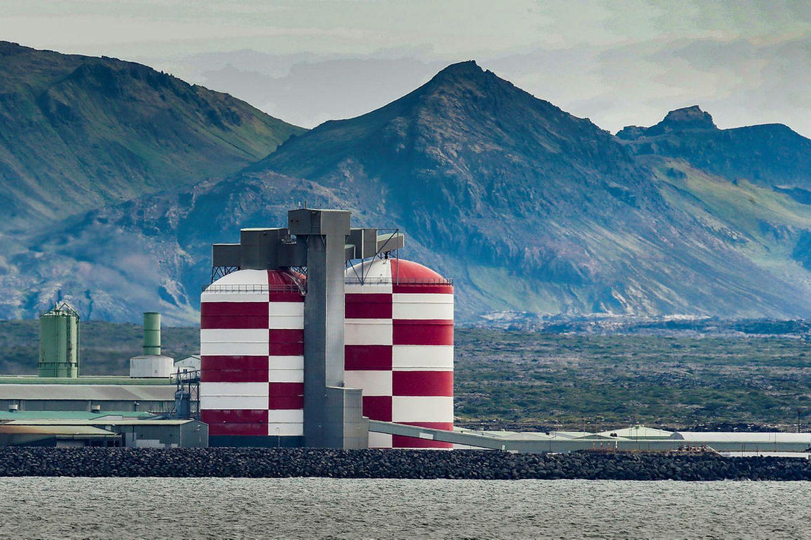 Álver Rio Tinto í Straumsvík.