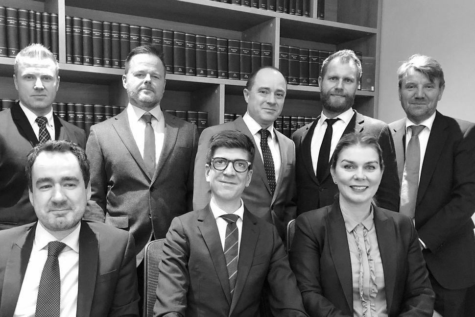 fremri röð frá vinstri: Daníel Isebarn Ágústsson, Flóki Ásgeirsson, Kristín ...