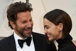 Bradley Cooper og Irina Shayk hættu saman í fyrra.