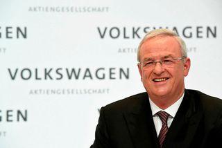Martin Winterkorn, fyrrverandi forstjóri Volkswagen, hefur verið ákærður af þýskum saksóknurum vegna útblástursskandalsins. Myndin er ...