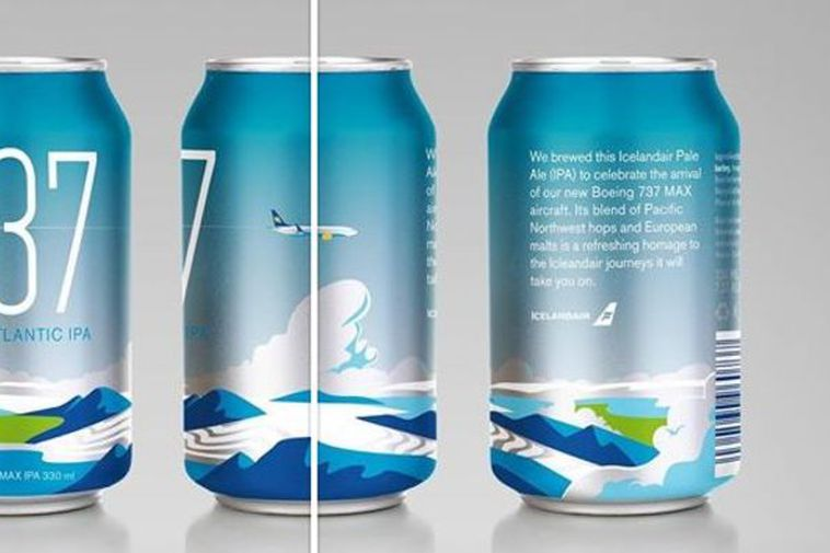 The new Icelandair beer.