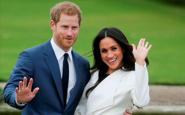 Harry og Meghan kveðja í kvöld.