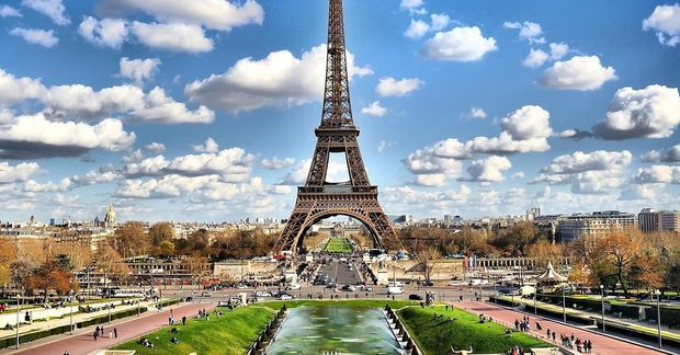 París er gríðarfalleg.