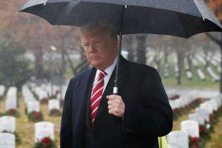 Donald Trump Bandaríkjaforseti segist ætla að skoða mál Golsteyn að beiðni margra.