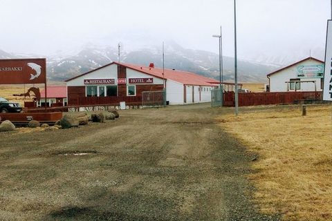 The Laxárbakki hotel in West Iceland where the incident occurred.