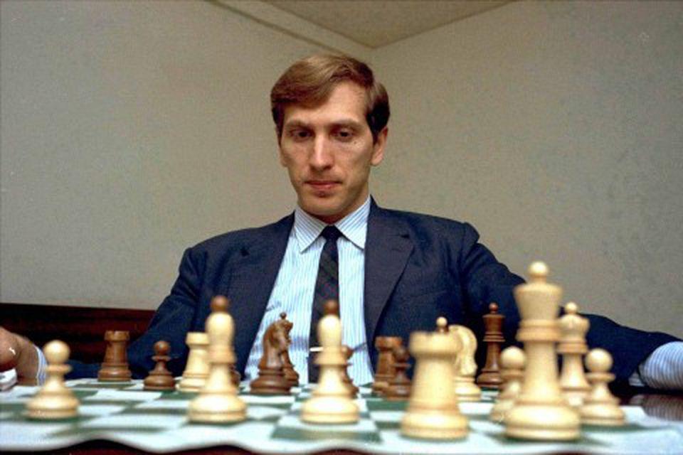Bobby Fischer árið 1971.