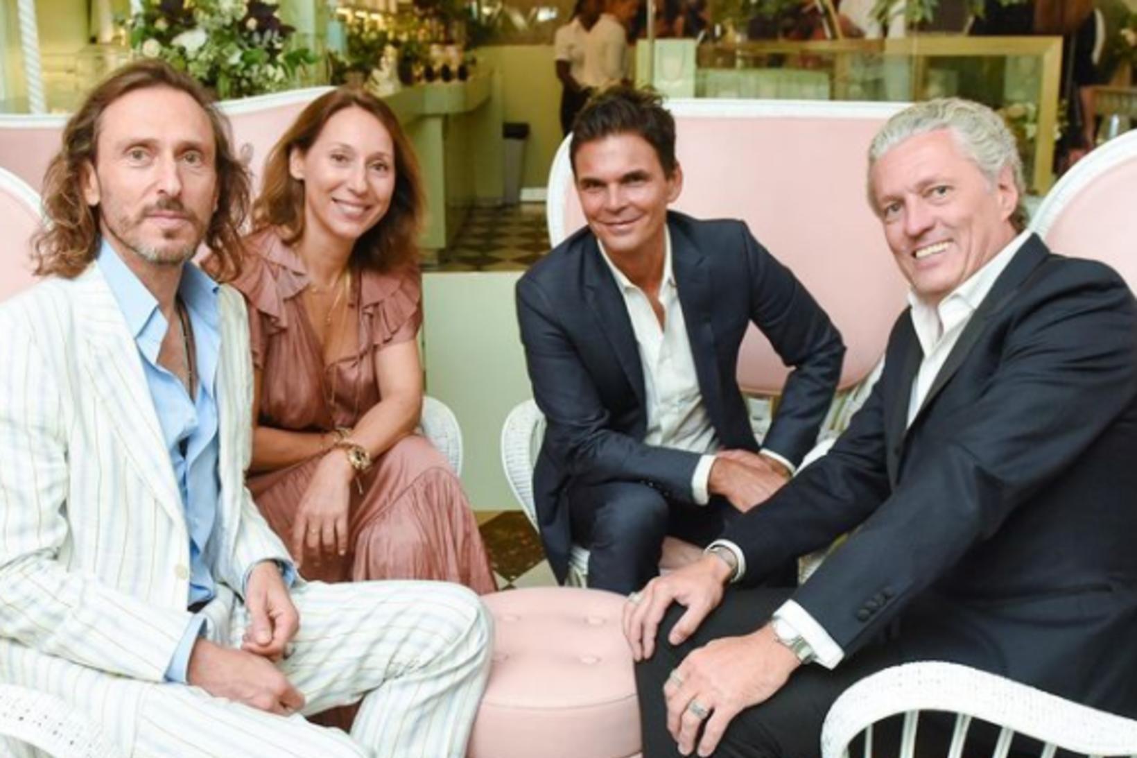 David Holder, Elisabeth Holder, Matthew Kenney og Francis Holder.