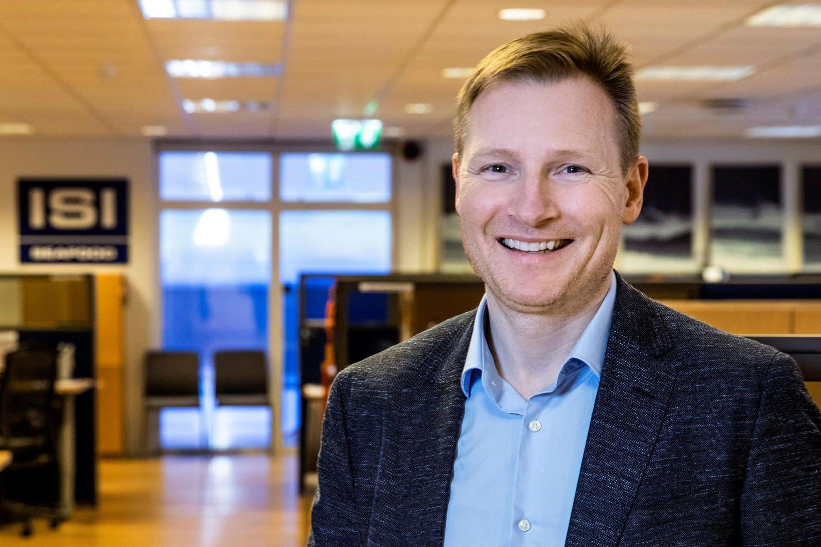 Bjarni Ármannsson, forstjóri Iceland Seafood, segir kaupin á Írlandi hlut …