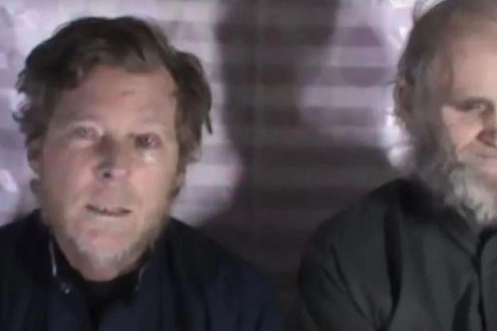 Prófessorarnir Timothy Weeks og Kevin King hafa verið í haldi …