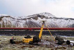 Mælitæki fylgjast með hræringum við Þorbjörn. Mikil jarðskjálftavirkni hefur verið á Reykjanesskaga.