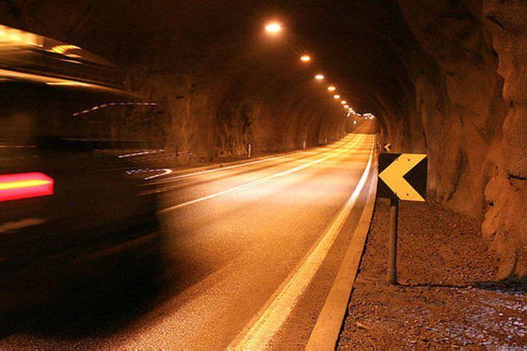 From the Hvalfjörður Tunnel.