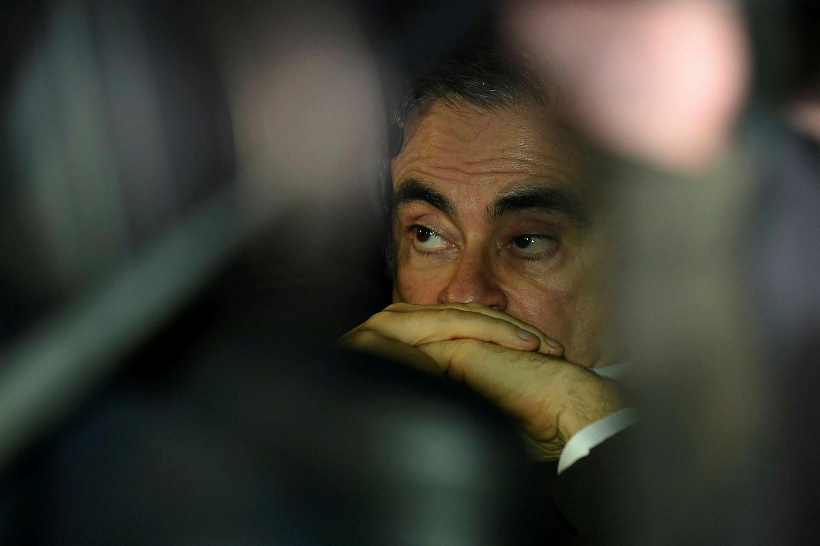 Carlos Ghosn er 65 ára gamall og ásakaður um stórfelld …