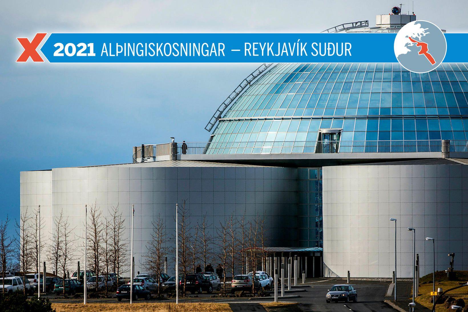 Lokatölur úr Reykjavík suður eru komnar í hús.