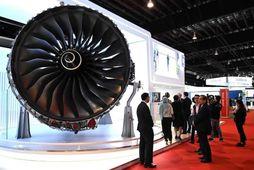 Flugvélahreyfill frá Rolls-Royce.