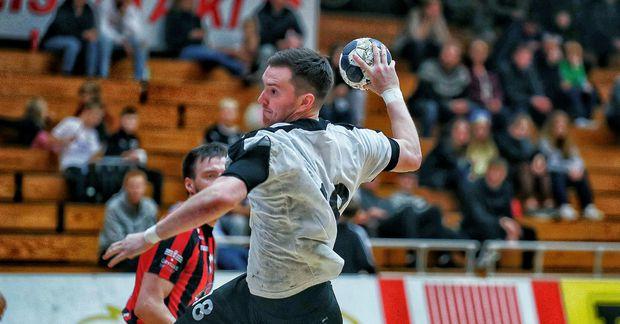 Egill Magnússon skoraði 10 mörk gegn SKA Minsk í dag.