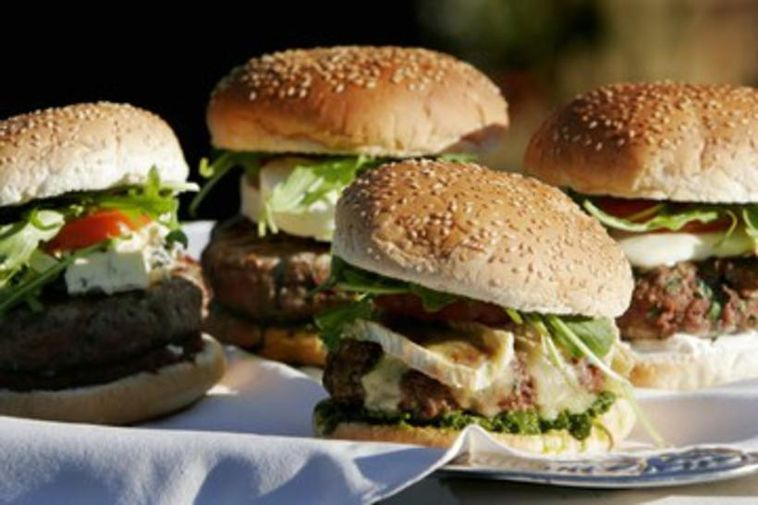 Hamburgers - a junk food enjoyed by many in Iceland and across the world.