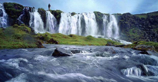 Íslensk náttúra er í forgrunni í nýrri herferð tískuhússins Louis Vuitton. Mynd úr safni.