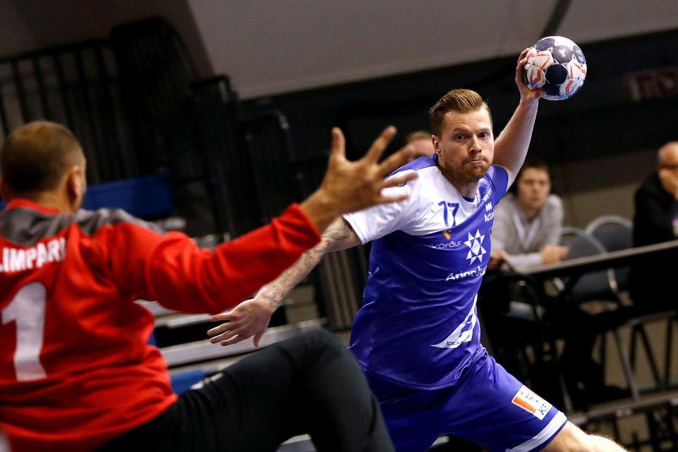 Arnór Þór Gunnarsson og félagar í Bergischer eru í tíunda ...