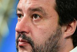 Formaður Lega, Matteo Salvini.