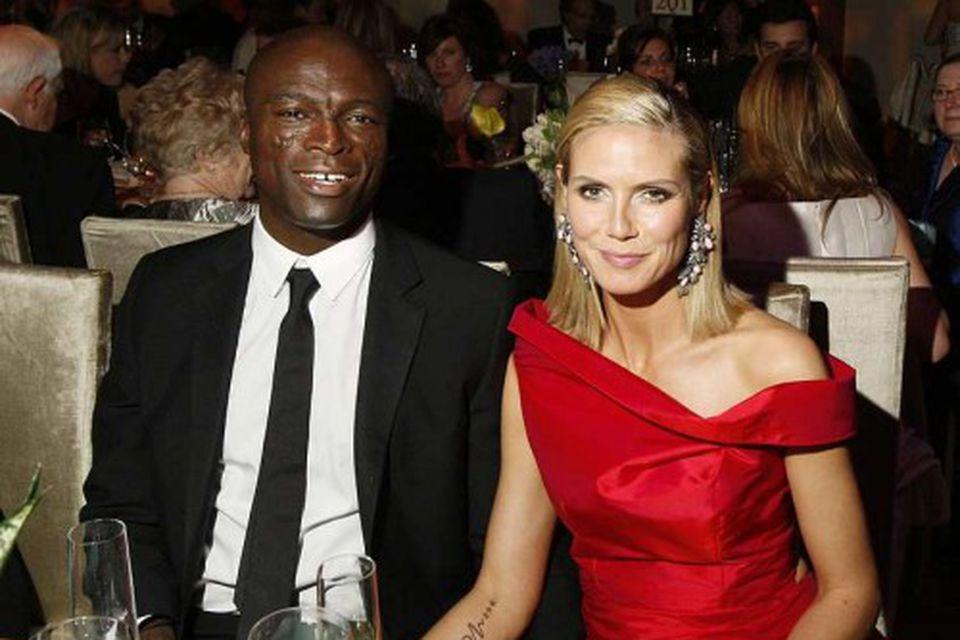 Hjónin Seal og Heidi Klum.