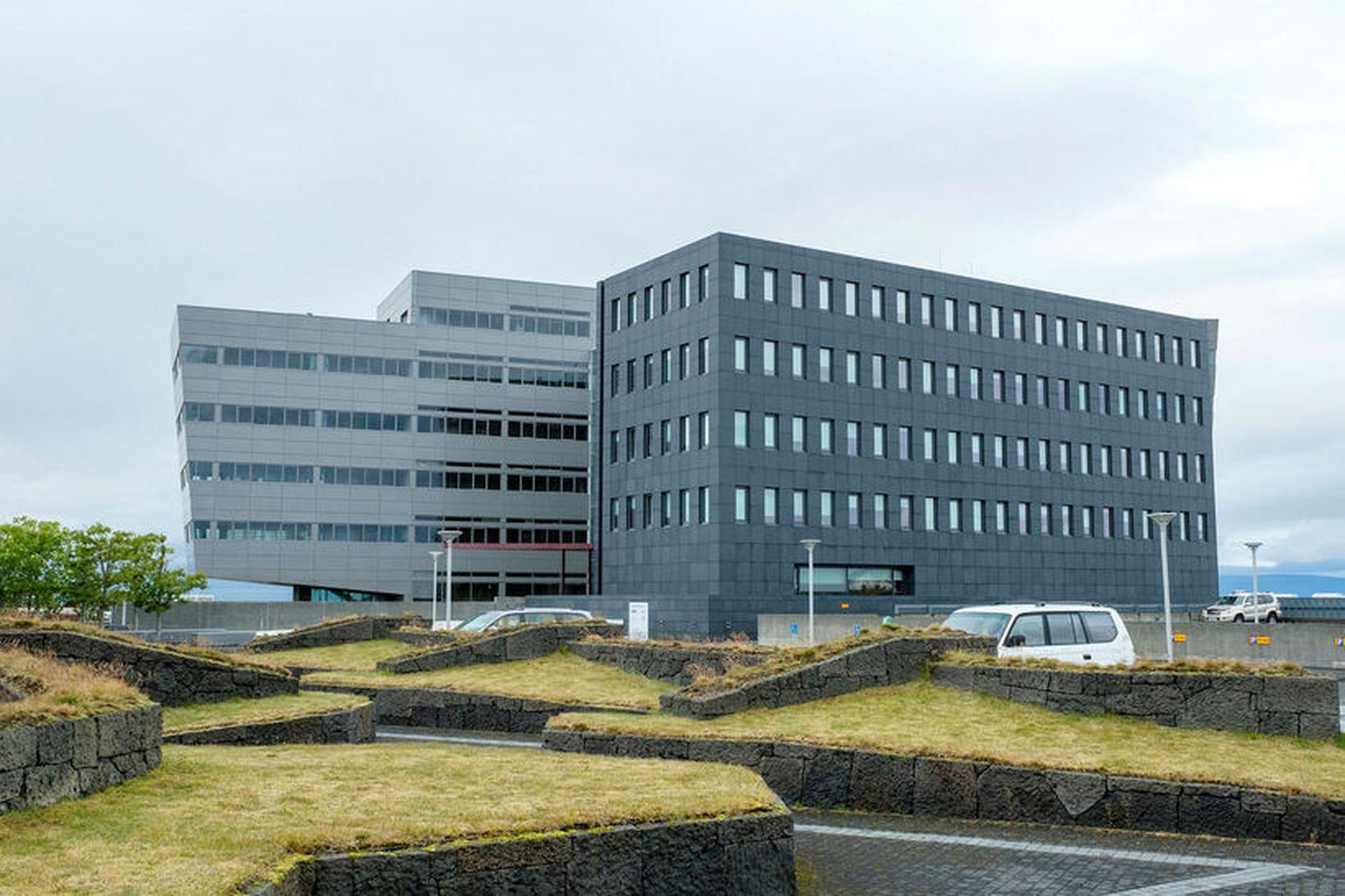 Höfuðstöðvar Orkuveitu Reykjavíkur í Árbæ, en Veitur eru dótturfélag Orkuveitunnar.