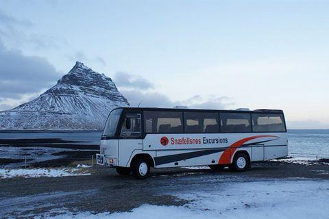 Djúpalón - Rútubiðstöð (Car park) - Rútuferðir ehf. / Snæfellsnes Excursions