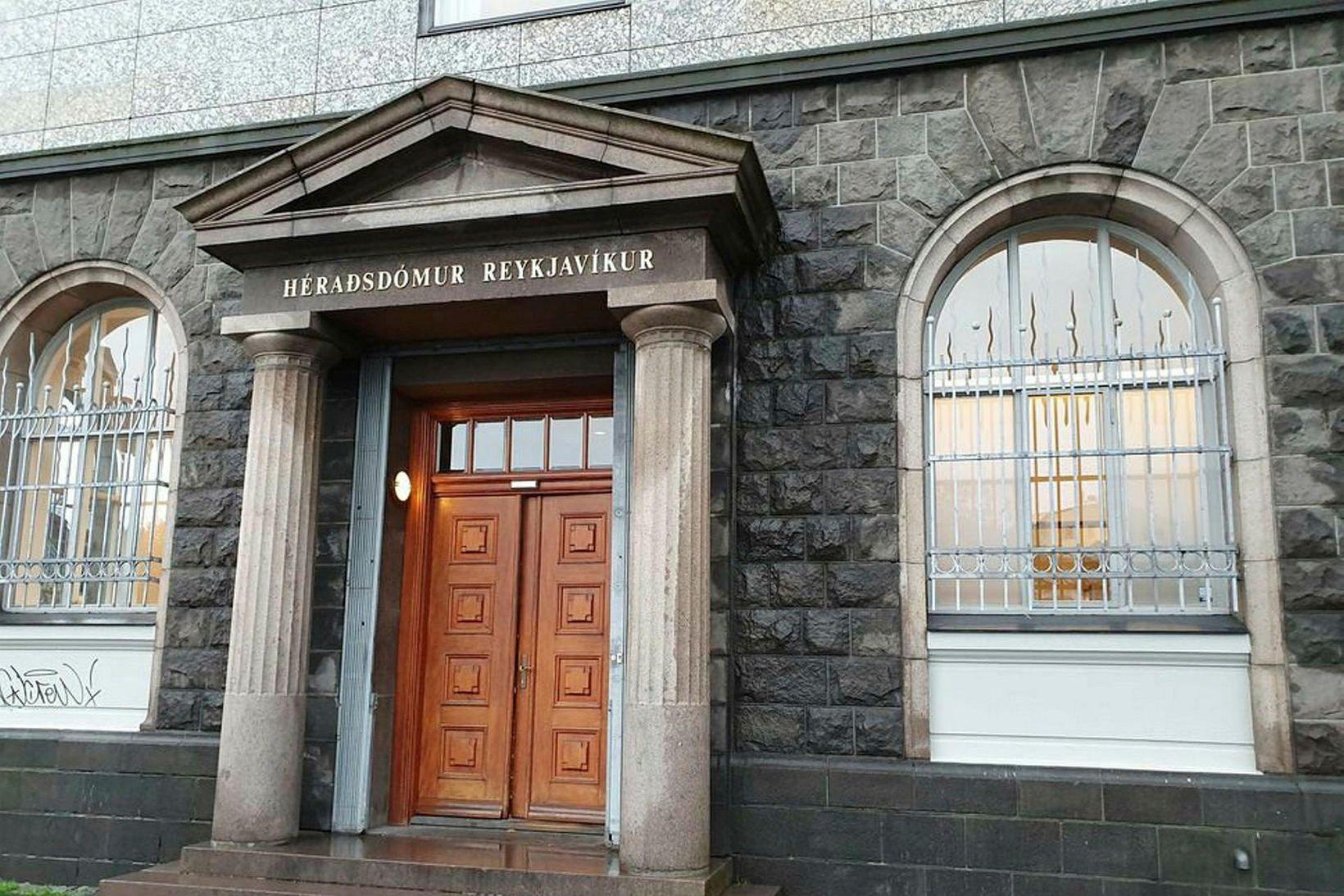 Dómhús Héraðsdóms Reykjavíkur.