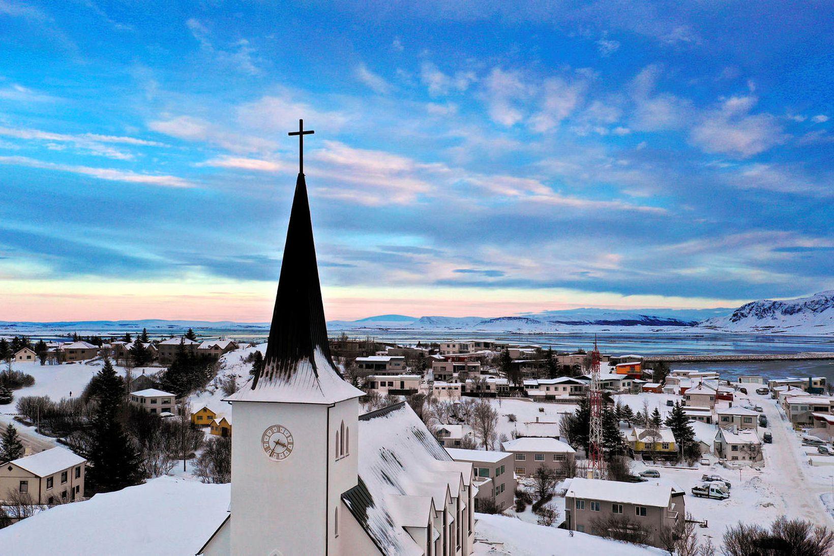 Borgarnes er fjölmennasti þéttbýliskjarninn í Borgarbyggð.