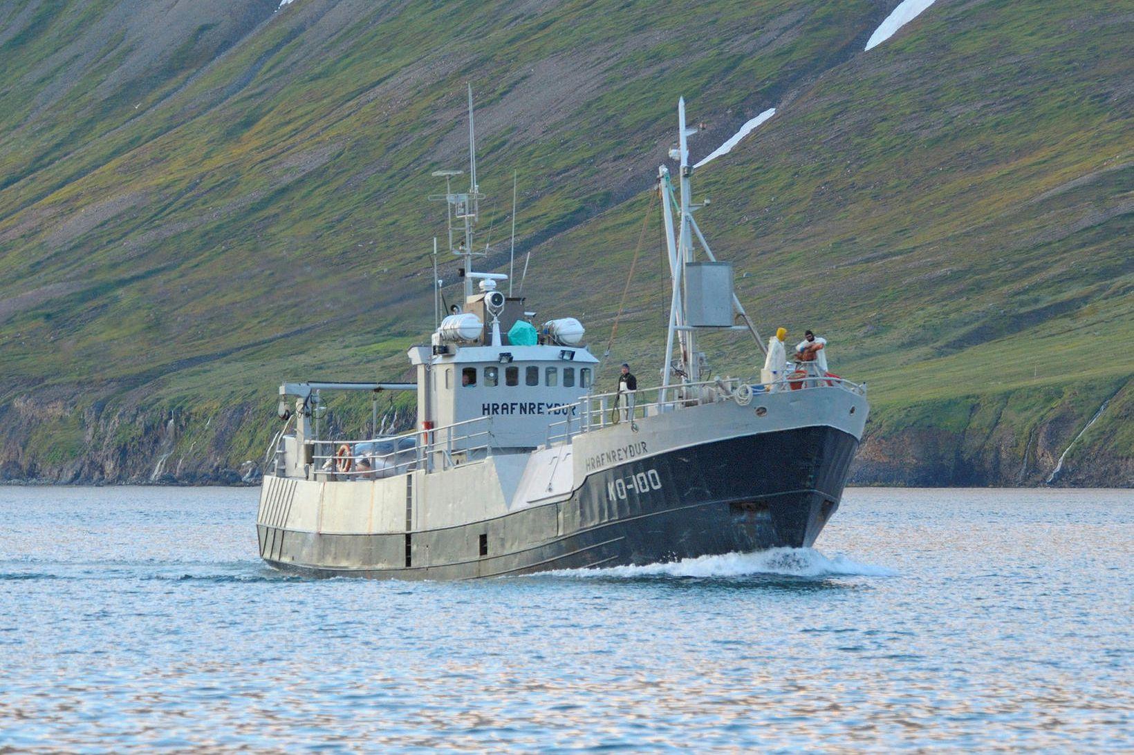 Hrafnreyður KÓ var notuð til hrefnuveiða í nokkur ár.