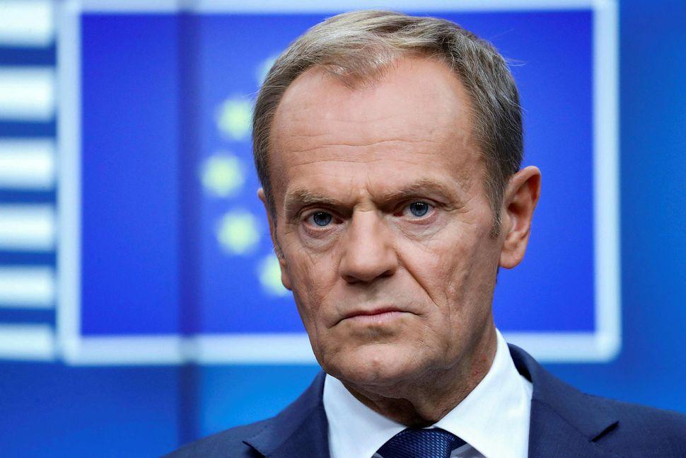 Donald Tusk, forseti leiðtogaráðs ESB.