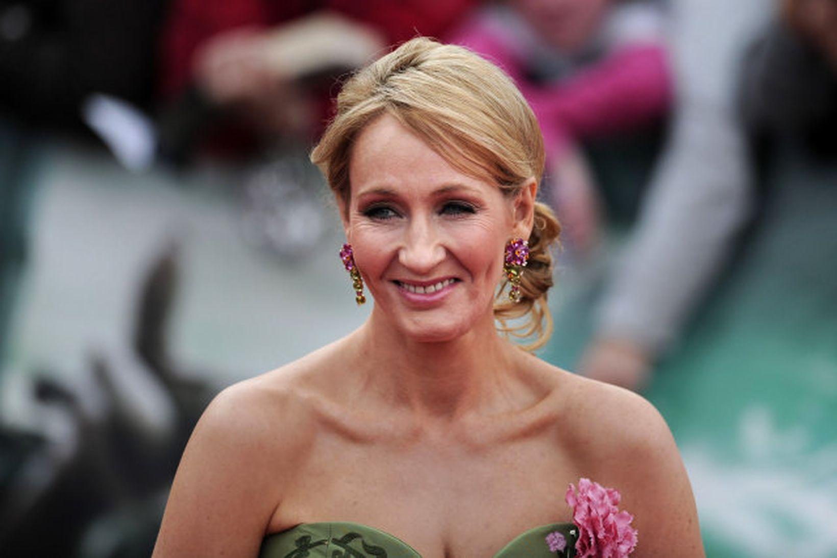 Breski rithöfundurinn J. K. Rowling.