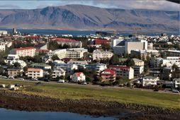 Vesturbærinn í Reykjavík.