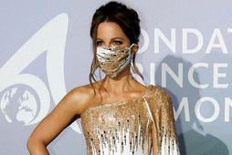 Leikkonan Kate Beckinsale er hætt með kærastanum.