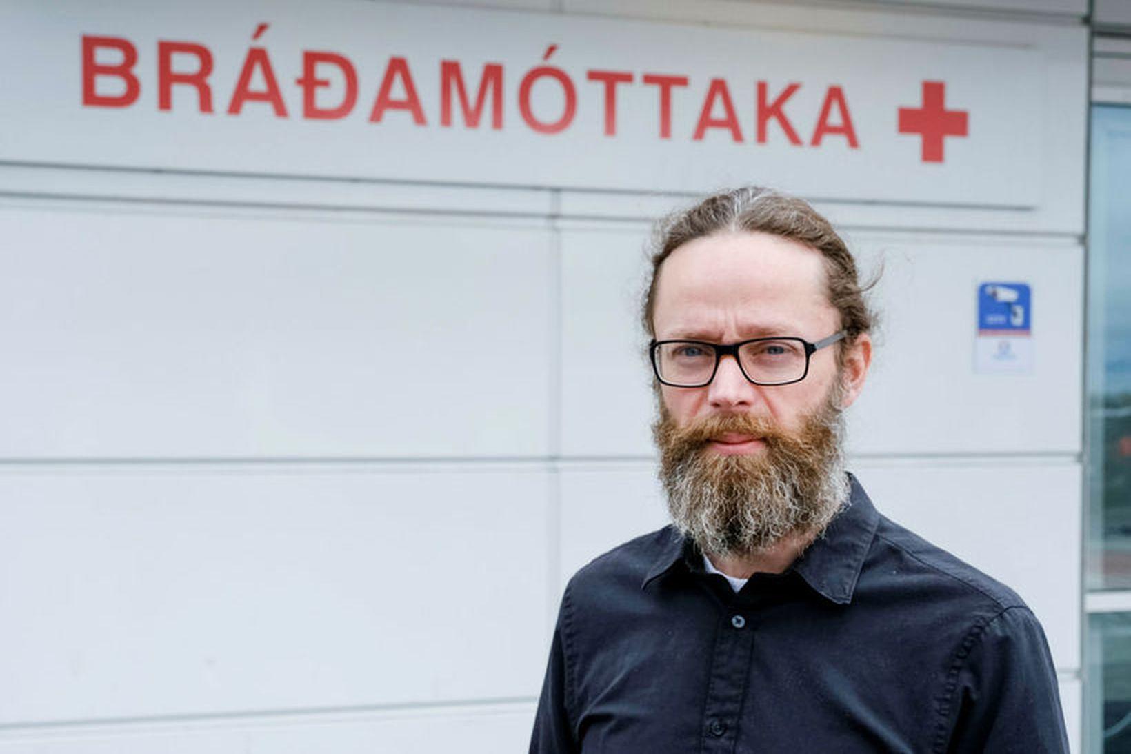 Hjalti Már Björnsson, yfirlæknir bráðamóttöku Landspítala.