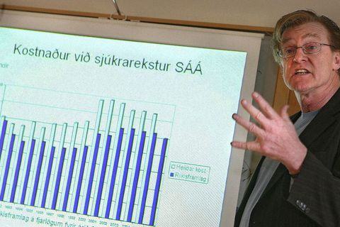Cocaine is a common form of repayment for drug addicts with outstanding drug debts in Iceland says head of SÁÁ, Þórarinn Tyrfingsson.
