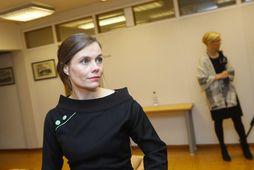Katrín Jakobsdóttir forsætisráðherra segir hlutina skýrast á þriðjudag.
