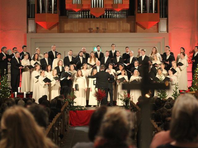 The Hallgrímskirkja Motet Choir Christmas Concert
